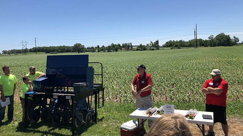 Mike Haedt & Dan Roehrborn discuss Interseeding Cover Crops