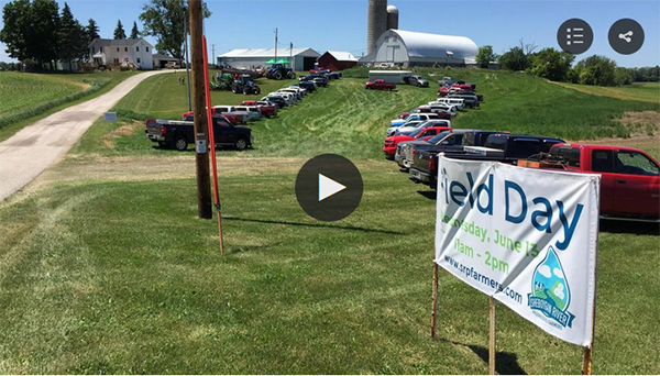 WLUK TV 11 coverage of field day
